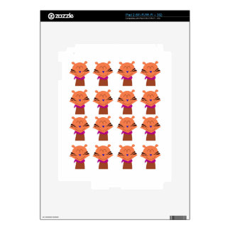 Design elements  Foxes kids edition Decal For iPad 2
