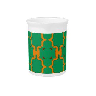 Design elements, gold, lemon beverage pitcher