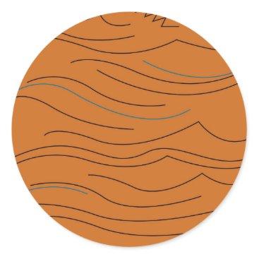 Aztec Themed Design elements hot aztecs classic round sticker
