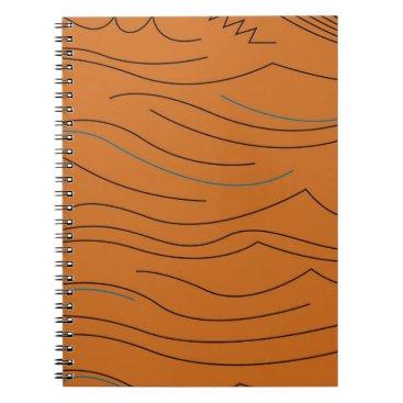 Aztec Themed Design elements hot aztecs notebook
