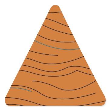 Aztec Themed Design elements hot aztecs triangle sticker