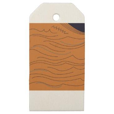 Aztec Themed Design elements hot aztecs wooden gift tags