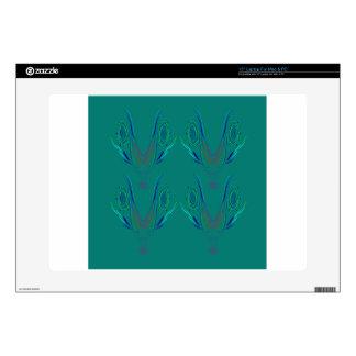 "Design elements nordic Green 15"" Laptop Skins"