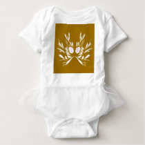 Design elements Wedding Baby Bodysuit
