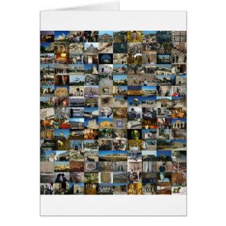 Design Exclusivo 100 Faces de Jerusalém Card