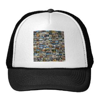 Design Exclusivo 100 Faces de Jerusalém Trucker Hat
