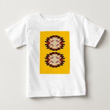 Aztec Themed Design exotic aztecs Gold Baby T-Shirt