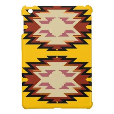 Aztec Themed Design exotic aztecs Gold Case For The iPad Mini