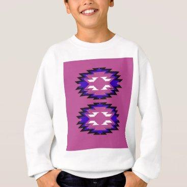 Aztec Themed Design exotic pink elements aztecs sweatshirt