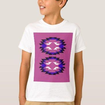 Aztec Themed Design exotic pink elements aztecs T-Shirt