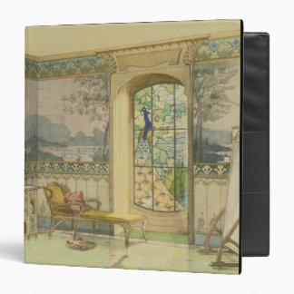 Design for a Bathroom, from 'Interieurs Modernes', Binder