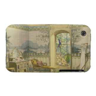 Design for a Bathroom, from 'Interieurs Modernes', iPhone 3 Case-Mate Case