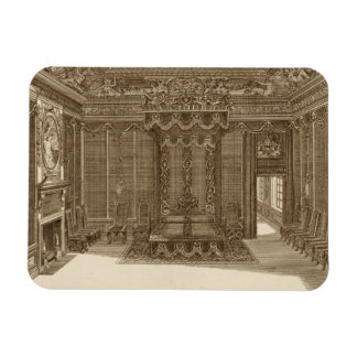 Design for a Bedchamber with a State Bed, from the Magnet