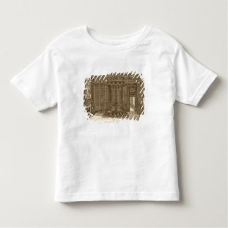 Design for a Bedchamber with a State Bed, from the Toddler T-shirt