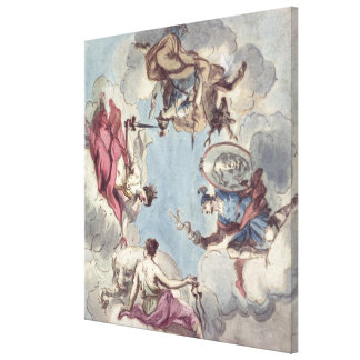 Design for a Ceiling Gallery Wrapped Canvas