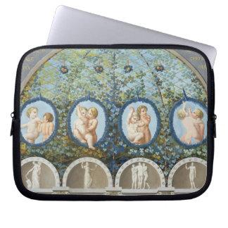 Design for a Ceiling Fresco, published c.1780 (gou Laptop Sleeve
