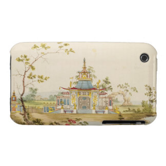 Design for a Chinese Temple, c.1810 (pen & ink and iPhone 3 Cover