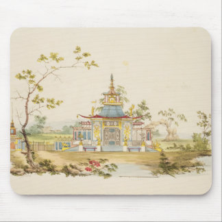 Design for a Chinese Temple, c.1810 (pen & ink and Mouse Pads