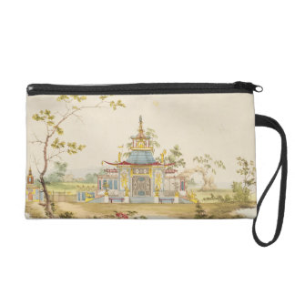 Design for a Chinese Temple, c.1810 (pen & ink and Wristlet Purse