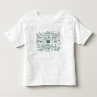 Design for a Completed Kitchen Garden, from 'New P Toddler T-shirt