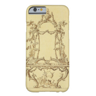 Design for a Console Table (pen & ink wash) Barely There iPhone 6 Case