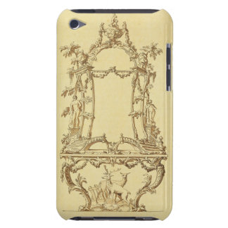 Design for a Console Table (pen & ink wash) Barely There iPod Case