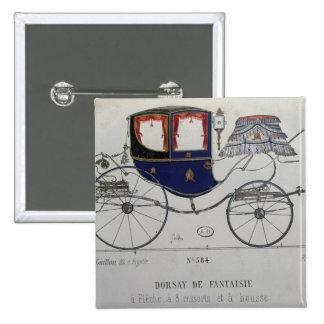 Design for a 'Coupe Dorsay de Fantaisie' Button