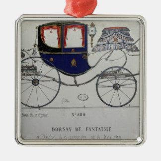 Design for a 'Coupe Dorsay de Fantaisie' Metal Ornament