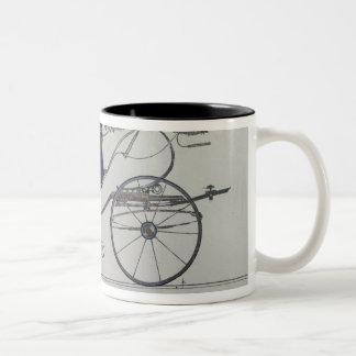 Design for a 'Coupe Dorsay de Fantaisie' Two-Tone Coffee Mug