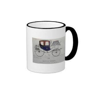 Design for a 'Coupe Dorsay de Fantaisie' Ringer Coffee Mug
