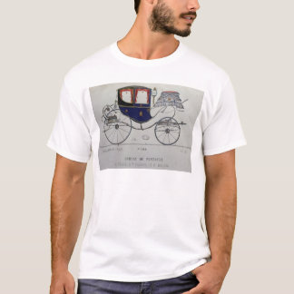 Design for a 'Coupe Dorsay de Fantaisie' T-Shirt