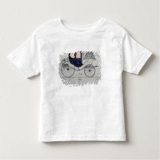 Design for a 'Coupe Dorsay de Fantaisie' Toddler T-shirt