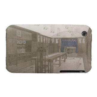 Design for a Dining Room, 1901 (colour litho) Case-Mate iPhone 3 Case