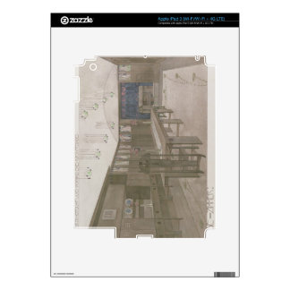Design for a Dining Room, 1901 (colour litho) iPad 3 Decal