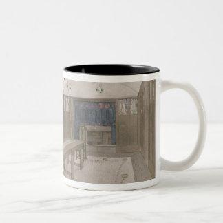 Design for a Dining Room, 1901 (colour litho) Two-Tone Coffee Mug