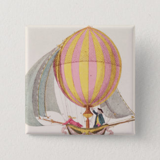Design for a dirigible, French, c.1785 Button