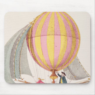 Design for a dirigible, French, c.1785 Mouse Pad