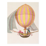 Design for a dirigible, French, c.1785 Postcard