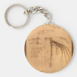 Design for a flying machine. keychain
