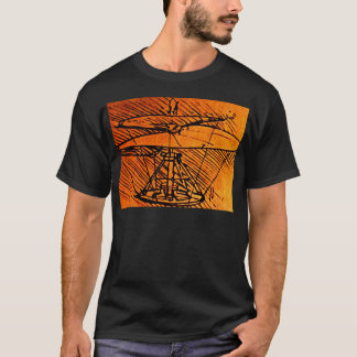 Design For A Helicopter T-Shirt