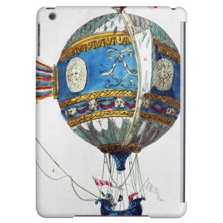 Design for a hot-air balloon with a diameter of 12 iPad air cases