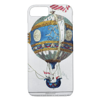 Design for a hot-air balloon with a diameter of 12 iPhone 7 case