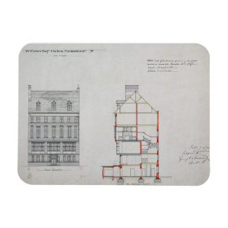 Design for a house for W. Flower Esq, Chelsea Emba Magnet