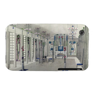 Design for a Music Room with panels by Margaret Ma iPhone 3 Cover