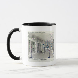 Design for a Music Room with panels by Margaret Ma Mug