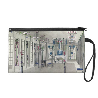 Design for a Music Room with panels by Margaret Ma Wristlet Purse