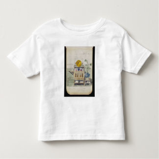 Design for a Sideboard, c.1860s-70s (w/c & pencil Toddler T-shirt