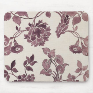 Design for a silk damask, 1752 (pencil and w/c on mouse pad