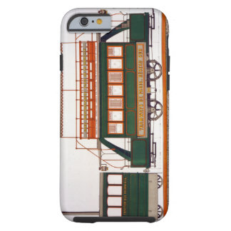 Design for a Steam Tram, plate 126 from 'The Indus Tough iPhone 6 Case