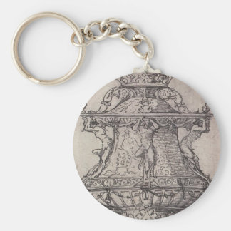 Design for a Table Fountain by Hans Holbein Keychain